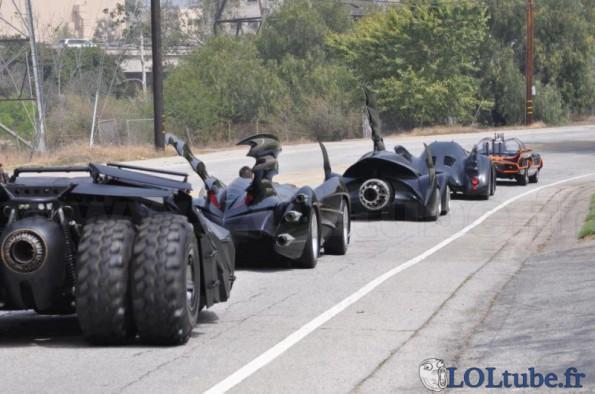5 générations de batmobiles