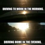 Aller au boulot le matin