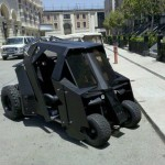 Batmobile pour faire du golf