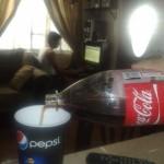 Coca dans Pepsi, sacrilège !