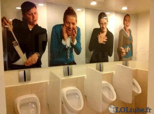 Drôles d'urinoirs