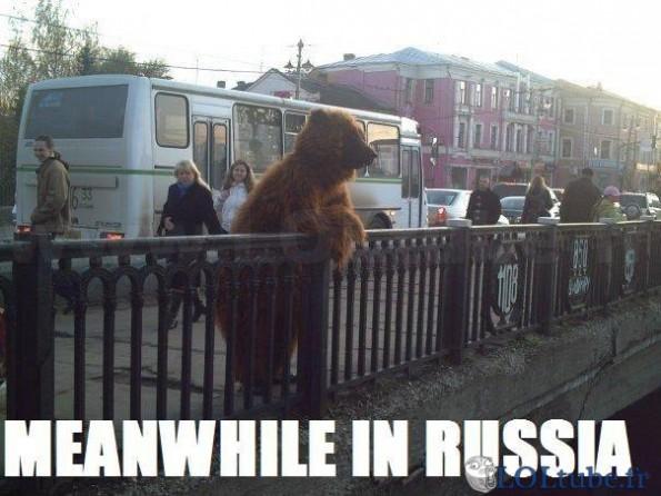 Pendant ce temps en russie