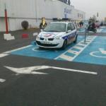 Policiers handicapés