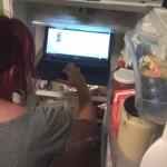 Sur facebook dans le frigo