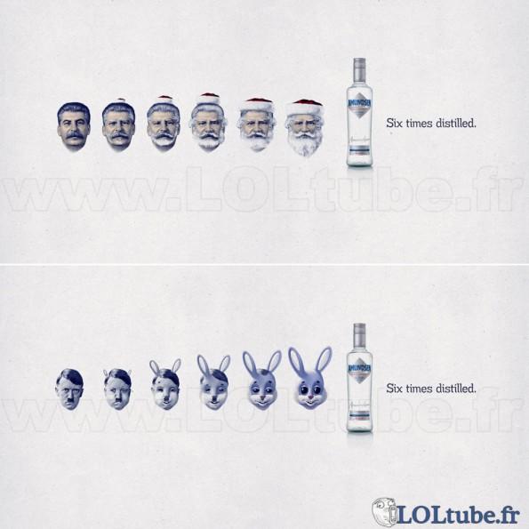 Vodka distillée 6 fois