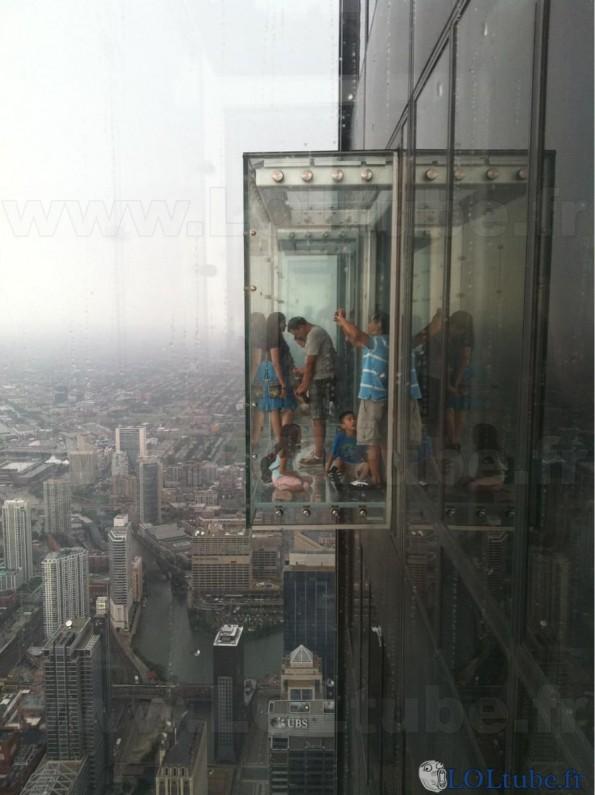 Ascenseur spécial vertige