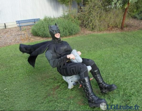 Batman s'amuse