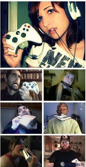 C'est comme ça qu'on joue aux jeux vidéos