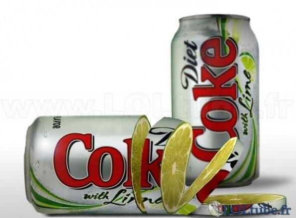 Coca au citron