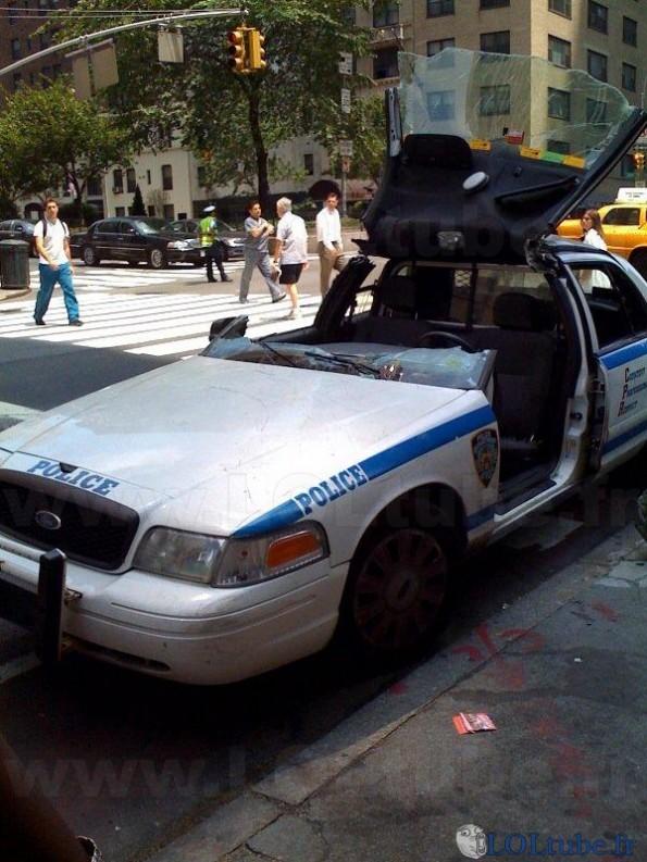 Décapotable dans la police