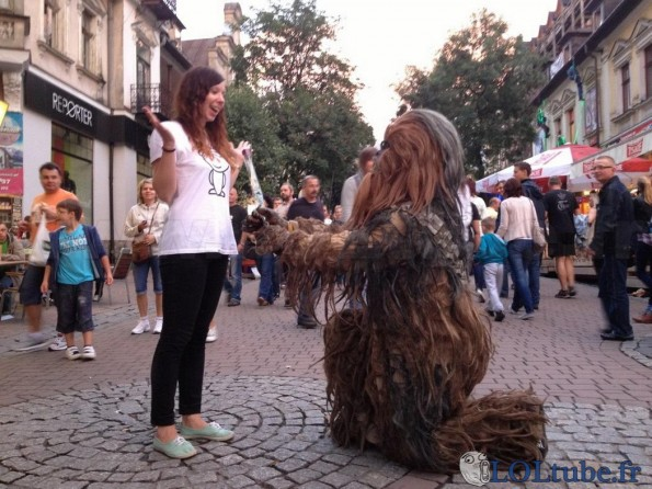 Demande en mariage de Chewbacca
