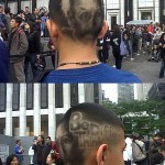 Dessin sur une coiffure
