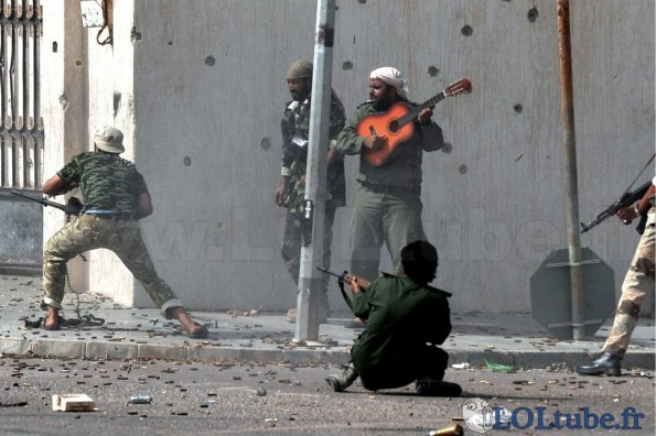 Faire la guerre en musique