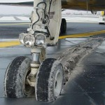Freinage d'urgence en avion