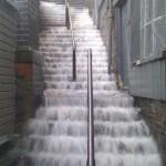 Il pleut en Angleterre