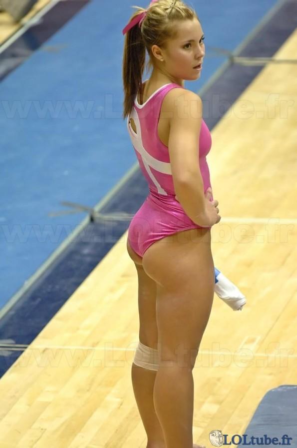 Juste une gymnaste