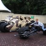 Moto et voiture classieuse