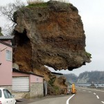 Petit risque de chute de pierre