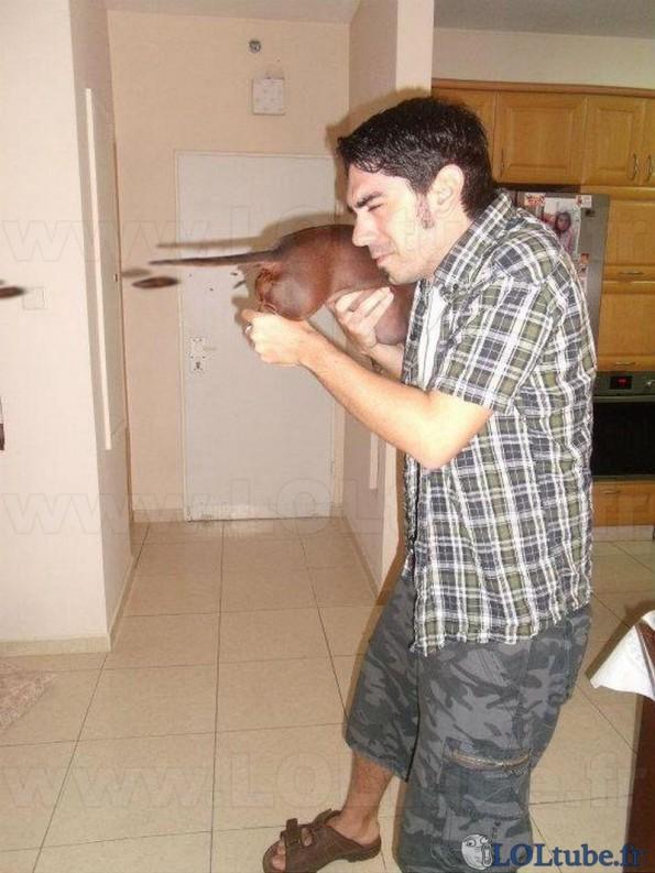 Pistolet a crotte