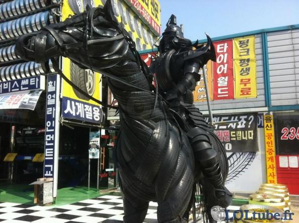 Samurai sur son cheval