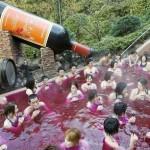 Se baigner dans du vin
