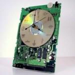 Une horloge de geek