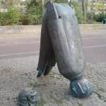 Une statue qui attend quelque chose