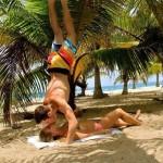 Baiser acrobatique