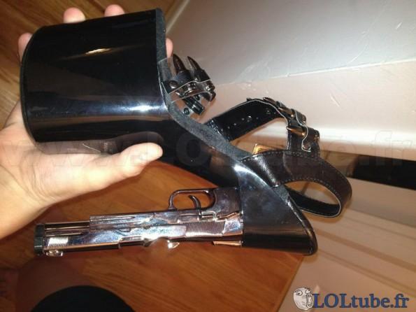 Chaussure pistolet