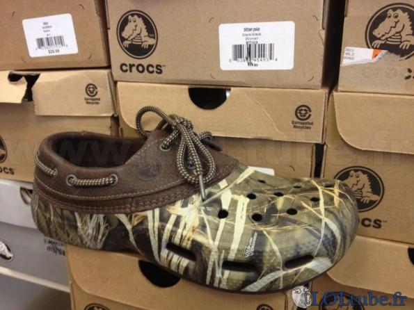 Crocs camoufflage