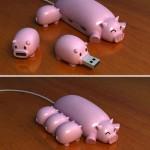 Hub USB cochon