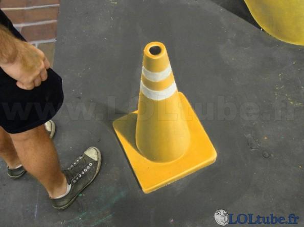 Illusion cone