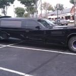 Limousine batmobile