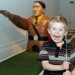 Minigolf Hitler
