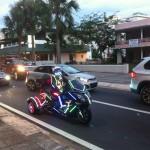 Moto sortie de Tron