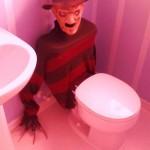 Pour avoir peur d'aller aux toilettes
