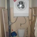 Réutilisation de l'eau du lave linge