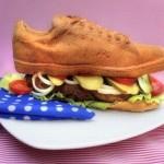 Sandwich à la chaussure