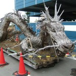 Sculpture d'arbre dragon