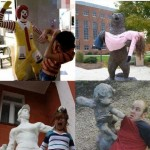 Statues avec un second sens