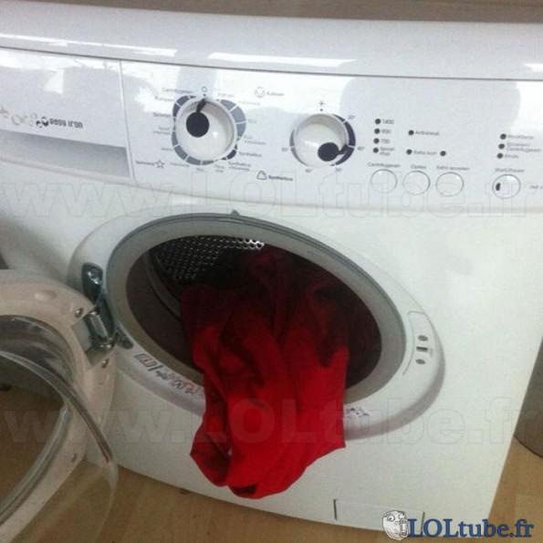 Vomis de machine à laver