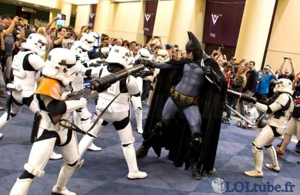 Batman VS Star wars