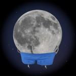 La lune montre sa llune