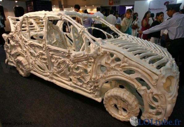 La voiture des Pierrafeu