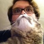 Mi homme mi chat
