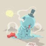 Suicide d'un bonhomme de neige