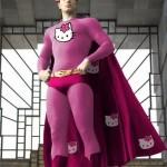 Superman kitty ?