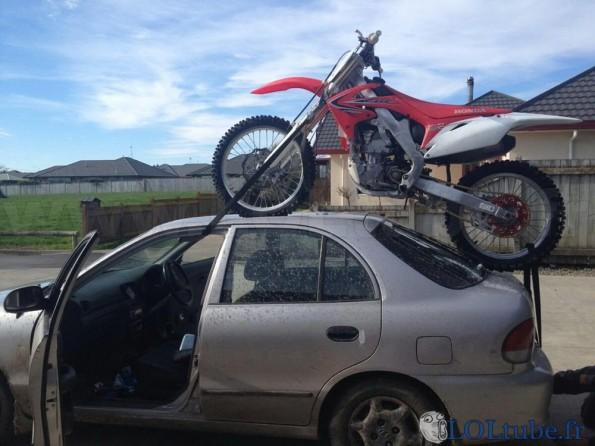 Transport de moto