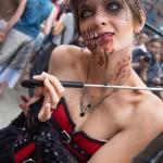 Une zombie