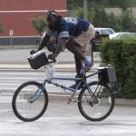 Vélo à l'envers